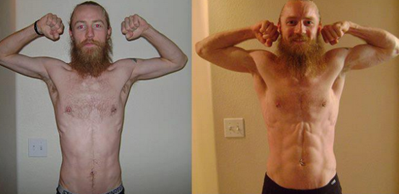 Testosterone Booster Before and After
